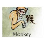 CHINESE HOROSCOPES POST CARD