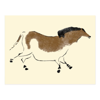 Chinese Horse Postcard