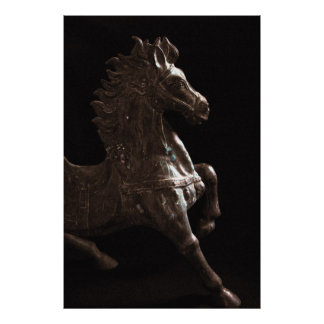 Chinese Horse Poster
