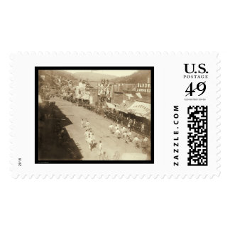 Chinese Hub-and-Hub Race Deadwood SD 1888 Stamp
