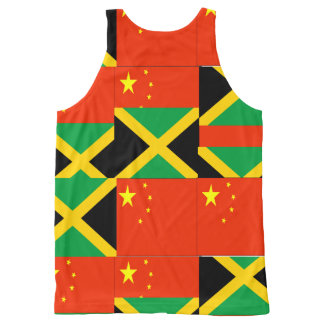 CHINESE-JAMAICAN All-Over PRINT TANK TOP