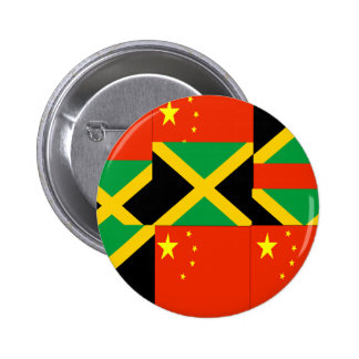 Chinese-Jamaican Button