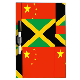 Chinese-Jamaican Dry-Erase Board