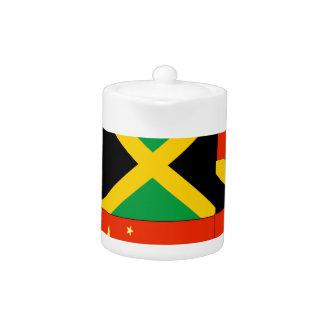 Chinese-Jamaican Teapot