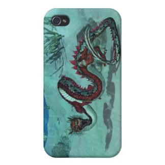 Chinese / Japanese Water Dragon i iPhone 4/4S Cover