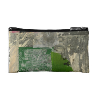 Chinese Joss Paper Collage Bag Makeup Bags