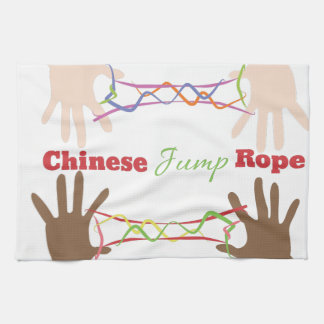 Chinese Jump Rope Towel