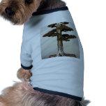 Chinese Juniper Bonsai Tree Dog T Shirt