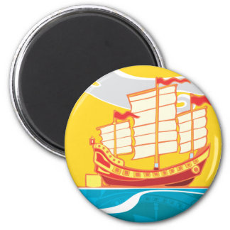 Chinese Junk Magnet