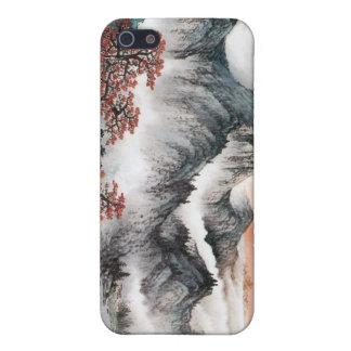 Chinese Landscape Painting iPhone Case --- Sunrise iPhone 5 Case