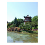 Chinese landscape postcard