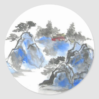 Chinese Landscape Stickers