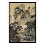 Chinese Landscape (VI) Print