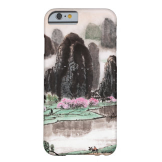 Chinese Landscape Watercolor Art iPhone 6 Case