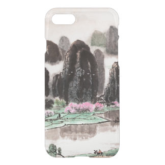 Chinese Landscape Watercolor iPhone 7 Case