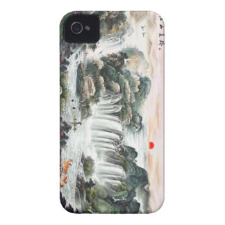 Chinese Landscape---What A Great World --- iPhone 4 Cover