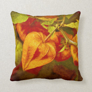 Chinese Lantern Fruits #2 Throw Pillow