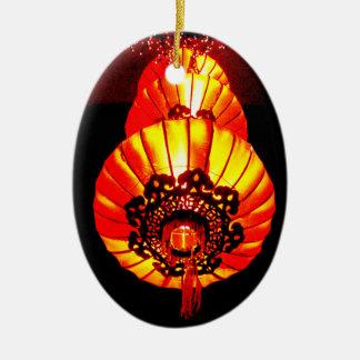 Chinese Lantern Holiday Christmas ornament