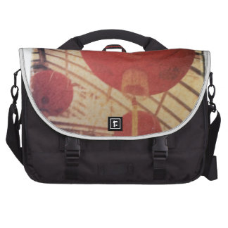 Chinese Lantern Image Transfer Commuter Bags