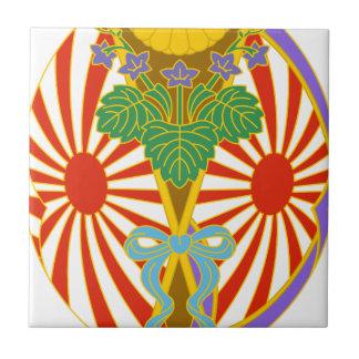 Chinese lantern Japan Festival Tile