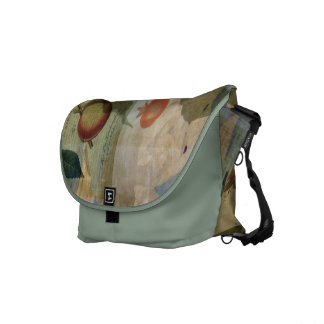 Chinese Lantern Surrounded Courier Bag