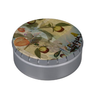 Chinese Lantern Surrounded Jelly Belly Candy Tin