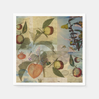 Chinese Lantern Surrounded Napkin