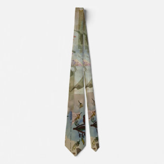 Chinese Lantern Surrounded Neck Tie