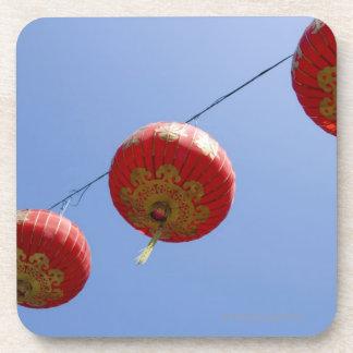 Chinese Lanterns Drink Coaster