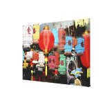 Chinese lanterns in China Canvas Print