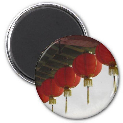 Chinese Lanterns Magnet