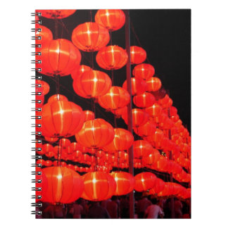 Chinese Lanterns Note Book