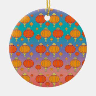 Chinese lanterns christmas ornaments
