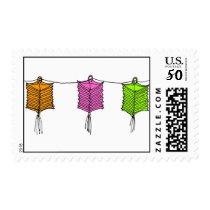 chinese lanterns postage