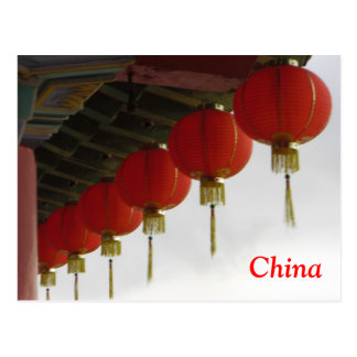 Chinese Lanterns Post Card