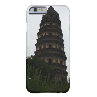 Chinese Leaning Pagoda Buddhist Temple Barely There iPhone 6 Case