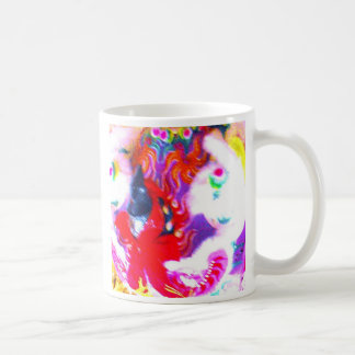 Chinese Lion Head, close-up abstract Coffee Mug