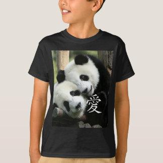Chinese Loving Little Giant Pandas T-Shirt