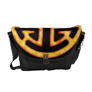 Chinese Lu Symbol Courier Bag