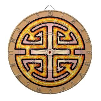 Chinese Lu Symbol Dart Board