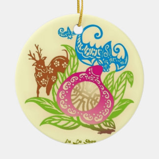 Chinese Lucky Symbols Ornament