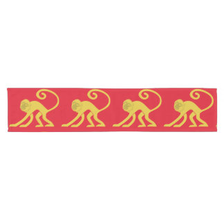 Chinese Lunar New Year of the Monkey Table Runner