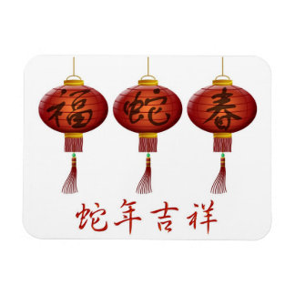 Chinese Lunar New Year of the Snake Flexi Magnet