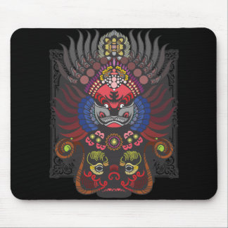Chinese Mask Mouse Pad