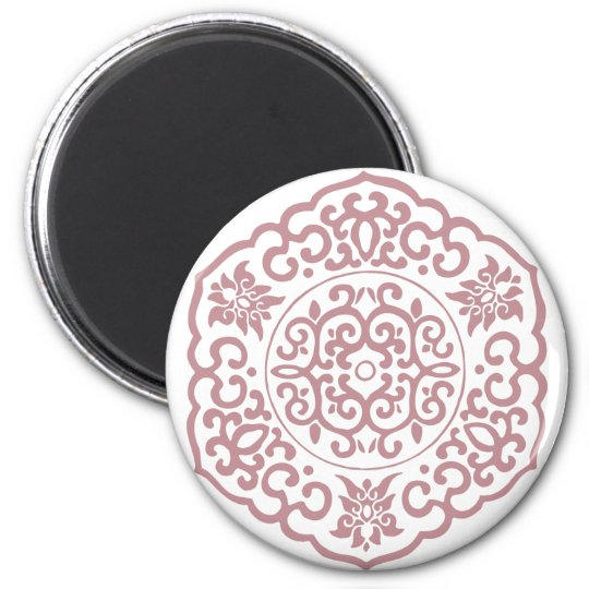 Chinese Medallion pink Magnet