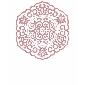 Chinese Medallion pink shirt