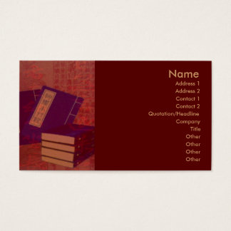 Chinese Medicine Business Card