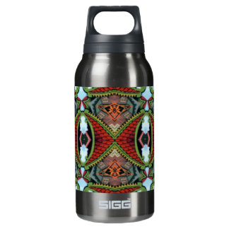 Chinese Memories Kaleidoscope Pattern Insulated Water Bottle