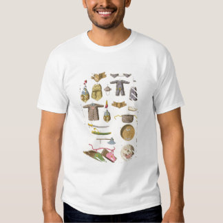 Chinese military arms and apparel, illustration fr tshirt