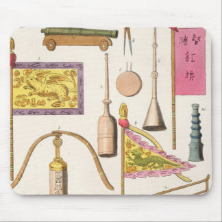 Chinese military equipment, illustration from 'Le Mouse Pad
